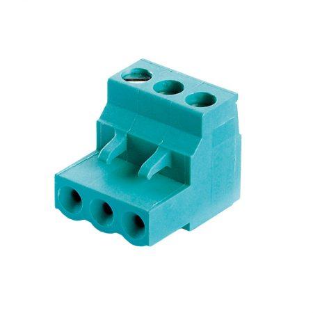 Steckklemme 3 – polig / 90° Winkel