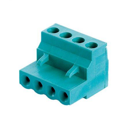 Steckklemme 4 – polig / 90° Winkel